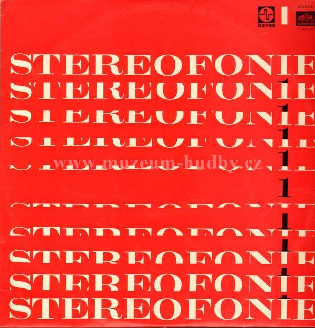 """Stereofonie: Stereofonie 1 - Vinyl(33"""" LP)"""