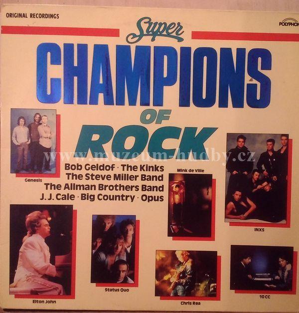 "The Kinks / Genesis / J.J. Cale / The Allman Brothers Band / ...: Super Champions Of Rock - Vinyl(33"" LP)"