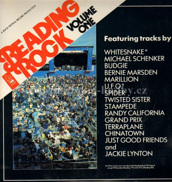 "Budgie,Whitesnake,Terraplane,Marillion,Randy California: Reading Rock '82 - Vinyl(33"" LP)"