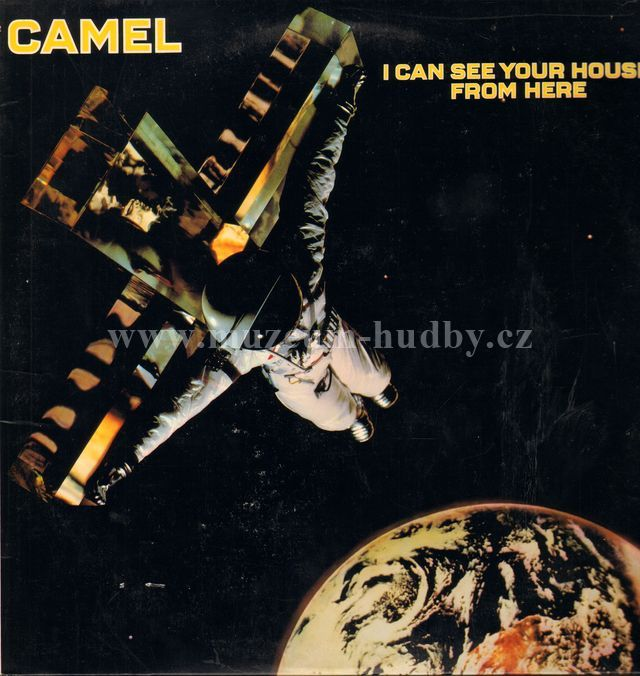 "Camel: I Can See Your House From Here - Vinyl(33"" LP)"