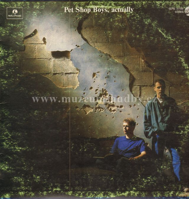 "Pet Shop Boys: Actually - Vinyl(33"" LP)"