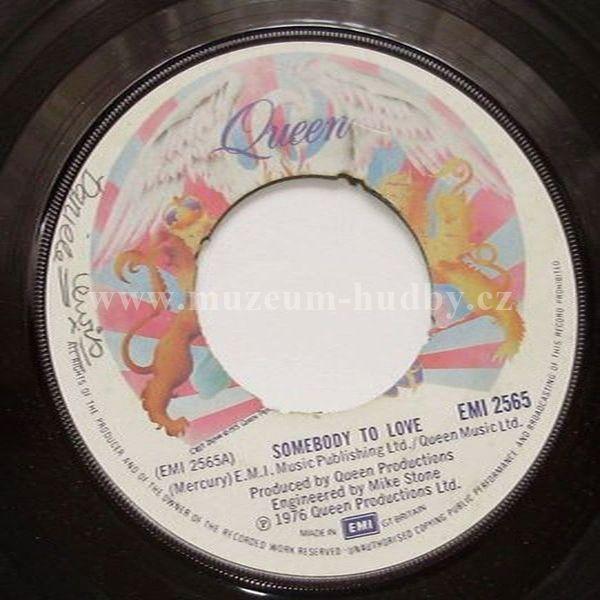 "Queen: Somebody To Love / White Man - Vinyl(45"" Single)"