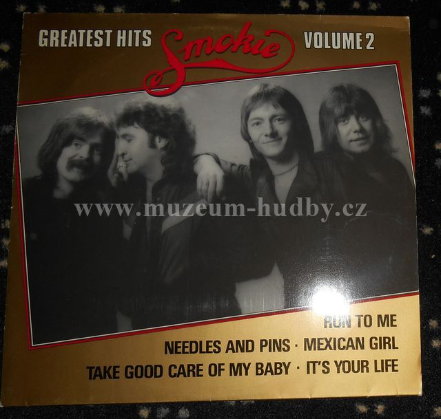 "Smokie [Suzi Quatro]: Smokie's Greatest Hits Volume 2 - Vinyl(33"" LP)"
