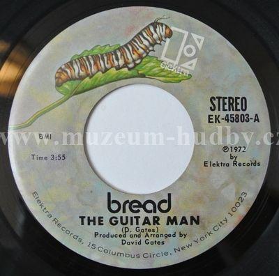 "Bread: The Guitar Man / Just Like Yesterday - Vinyl(45"" Single)"