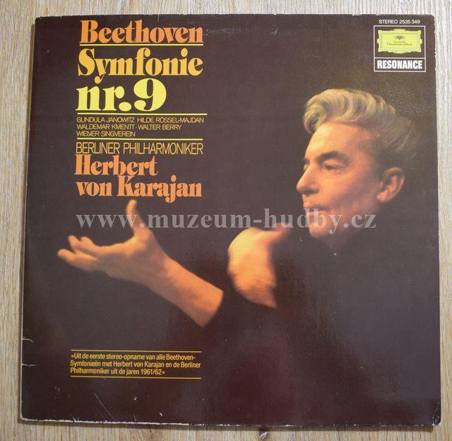 """Beethoven – Berliner Philharmoniker, Gundula Janowitz, Hilde Rössel-Majdan, Waldemar Kmentt, Walter Berry, Wiener Singverein: Symphonie Nr.9 - Vinyl(33"""" LP)"""