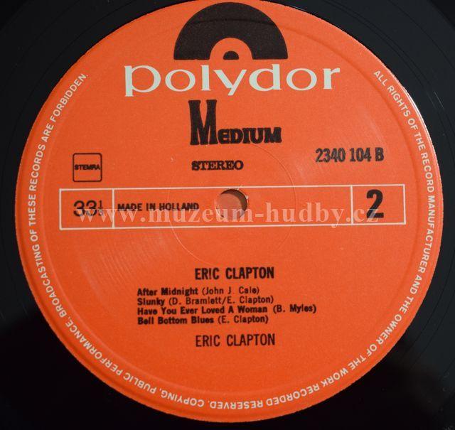 Eric Clapton Eric Clapton Product Detail Online Vinyl