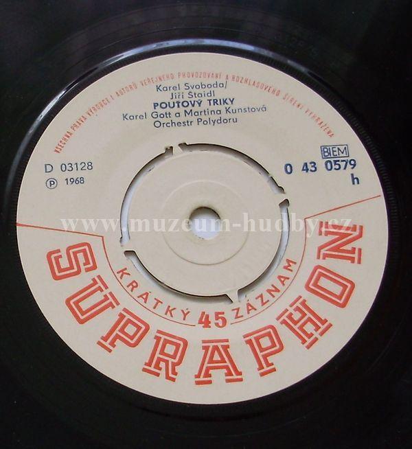 """Karel Gott: Lady Carneval / Pouťový Triky - Vinyl(45"""" Single)"""