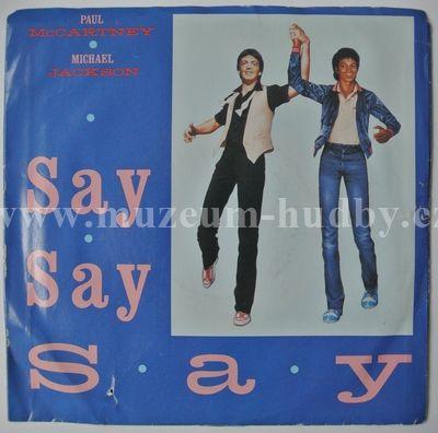 "Paul McCartney And Michael Jackson: Say Say Say / Ode To A Koala Bear - Vinyl(45"" Single)"