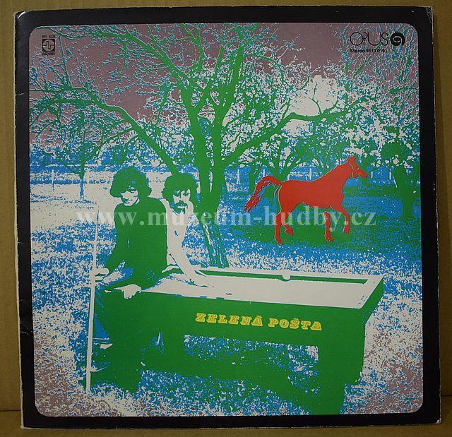"""Pavol Hammel & Marián Varga: Zelená Pošta - Vinyl(33"""" LP)"""
