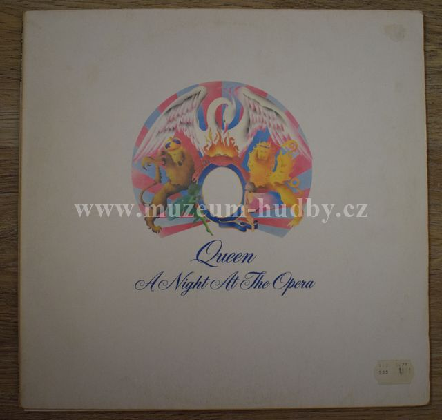 "Queen: A Night At The Opera - Vinyl(33"" LP)"