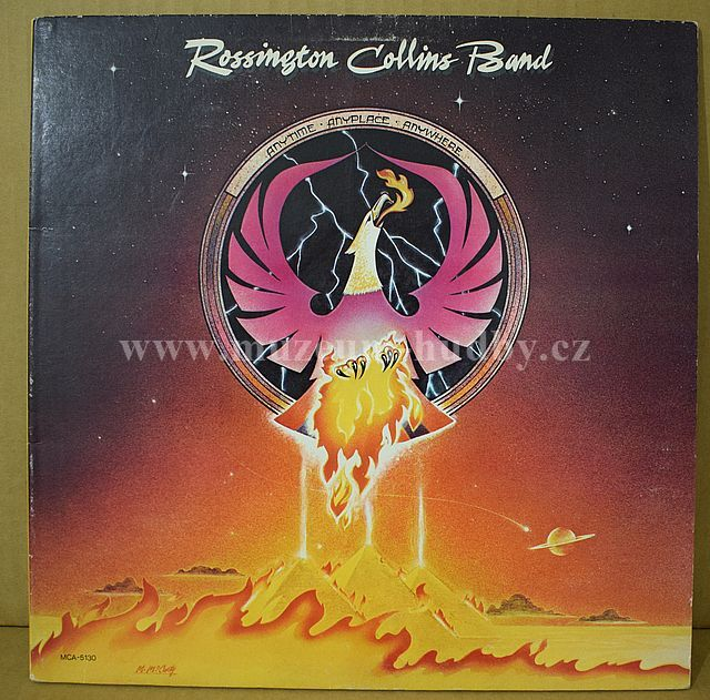 """Rossington Collins Band: Anytime, Anyplace, Anywhere - Vinyl(33"""" LP)"""