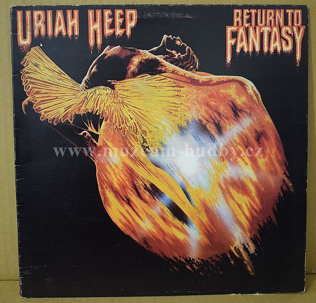 "Uriah Heep: Return To Fantasy - Vinyl(33"" LP)"