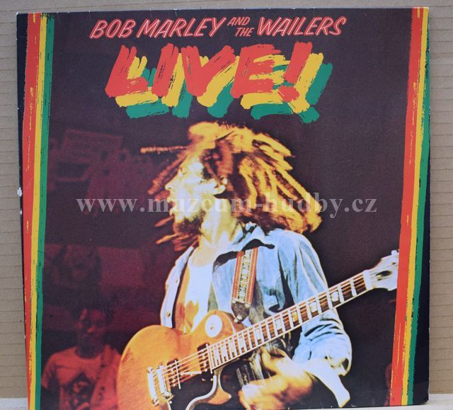 "Bob Marley And The Wailers: Live! - Vinyl(33"" LP)"