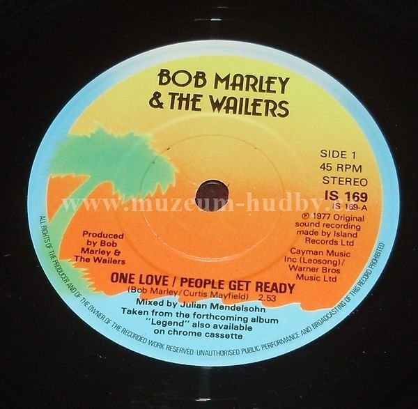 Bob Marley Amp The Wailers One Love People Get Ready