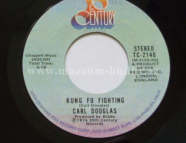 "Carl Douglas: Kung Fu Fighting / Gamblin' Man - Vinyl(45"" Single)"