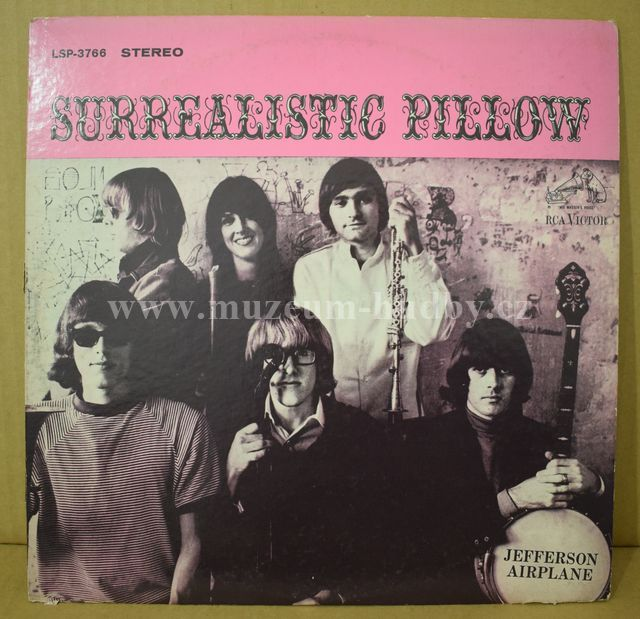 "Jefferson Airplane: Surrealistic Pillow - Vinyl(33"" LP)"