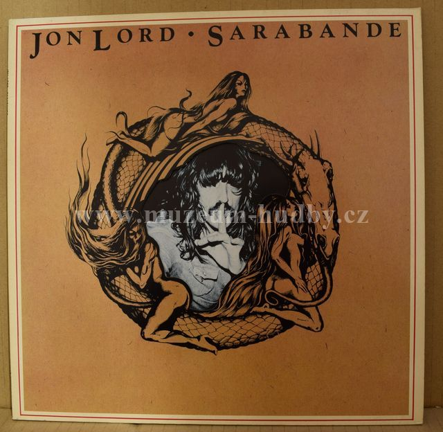 "Jon Lord [Deep Purple]: Sarabande - Vinyl(33"" LP)"