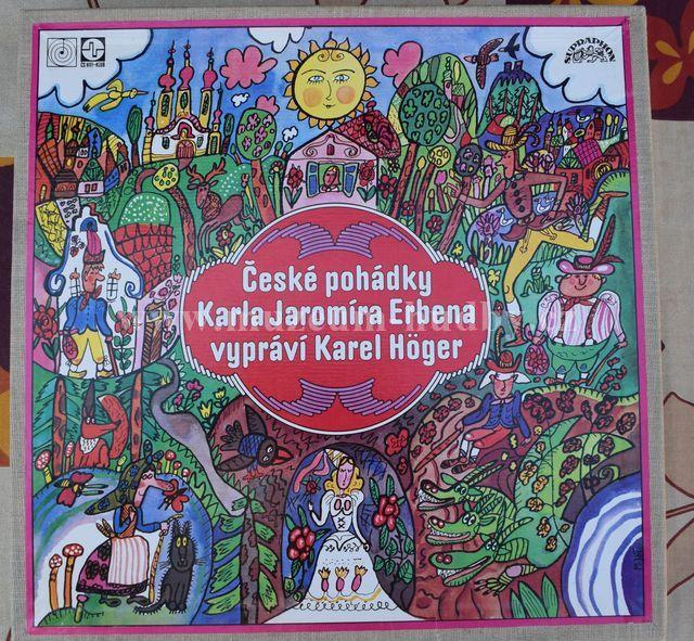 "Karel Jaromír Erben, Karel Höger: České Pohádky - Vinyl(33"" LP)"