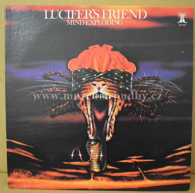 """Lucifer's Friend: Mind Exploding - Vinyl(33"""" LP)"""