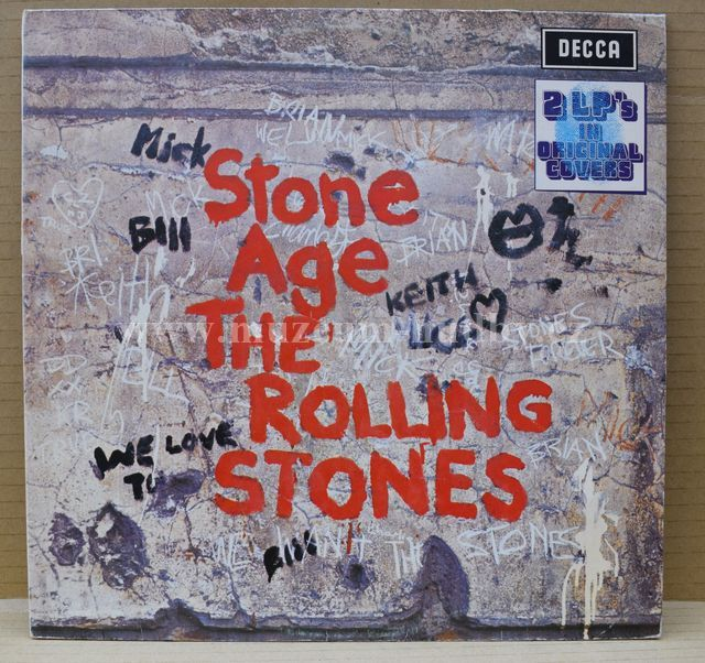 "Rolling Stones: Stone Age / Got Live If You Want It ! - Vinyl(33"" LP)"