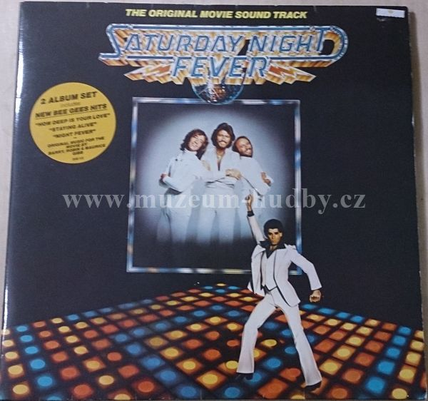 "Saturday Night Fever: Saturday Night Fever (The Original Movie Sound Track) - Vinyl(33"" LP)"