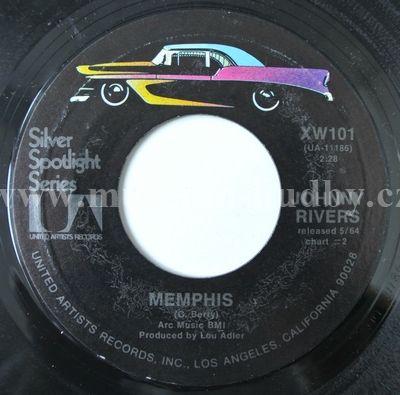 "Johnny Rivers: Memphis / Secret Agent Man - Vinyl(45"" Single)"