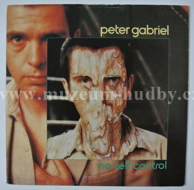 """Peter Gabriel: No Self Control / Lead A Normal Life - Vinyl(45"""" Single)"""