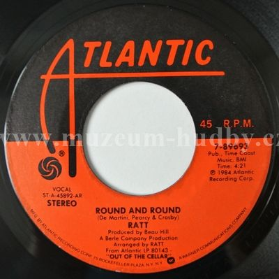 Ratt Round And Round The Morning After Online Vinyl