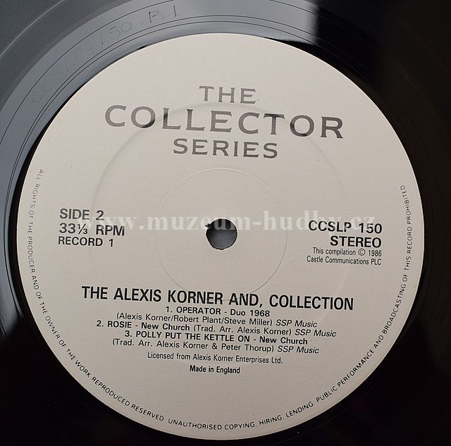 Alexis Korners Blues Incorporated Alexis Korner Blues Incorporated