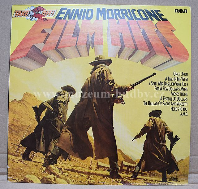 "Ennio Morricone: Film Hits - Vinyl(33"" LP)"