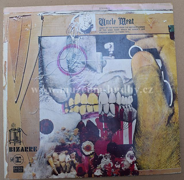 "Frank Zappa / Mothers Of Invention: Uncle Meat - Vinyl(33"" LP)"