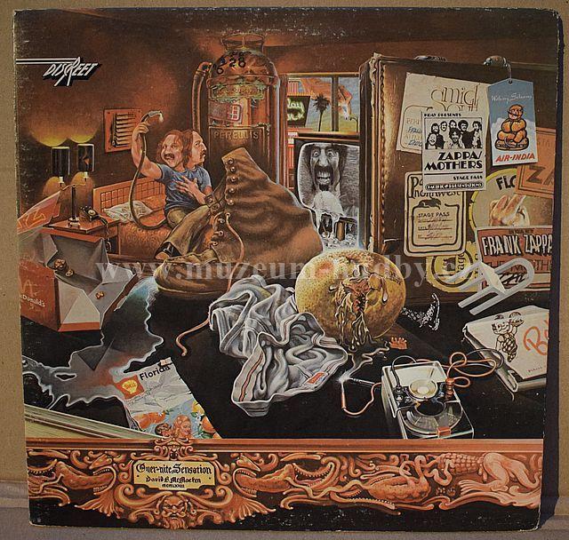 "Frank Zappa / Mothers: Over-Nite Sensation - Vinyl(33"" LP)"