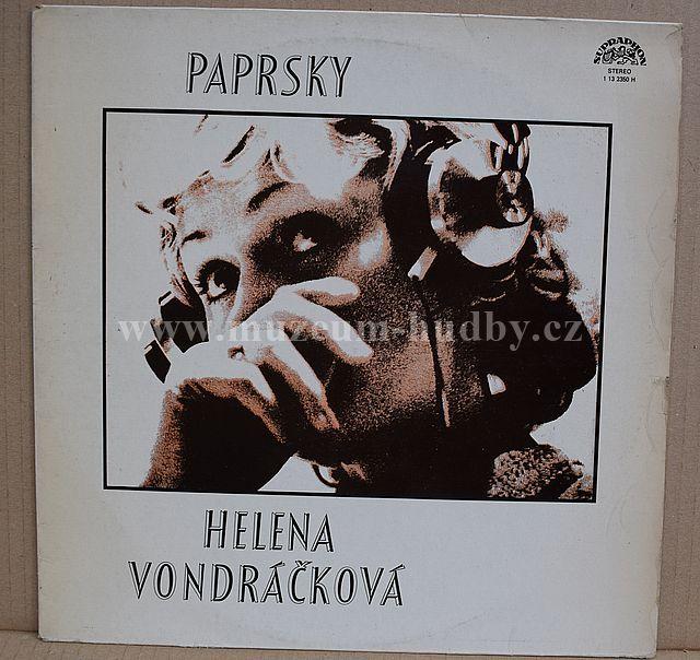 """Helena Vondráčková / Martin Kratochvíl: Paprsky - Vinyl(33"""" LP)"""