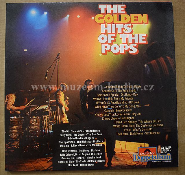 "Procul Harum / Monkees / Shocking Blue / Jimi Hendrix / James Brown: The Golden Hits Of The Pop - Vinyl(33"" LP)"