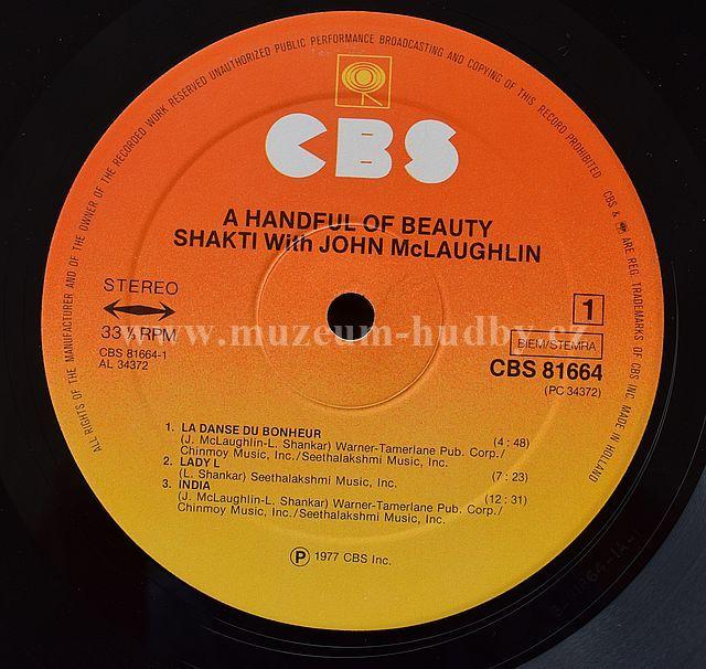 Shakti John Mclaughlin A Handful Of Beauty Online