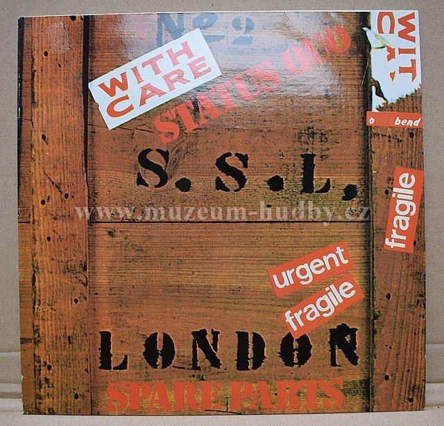 """Status Quo: Spare Parts - Vinyl(33"""" LP)"""