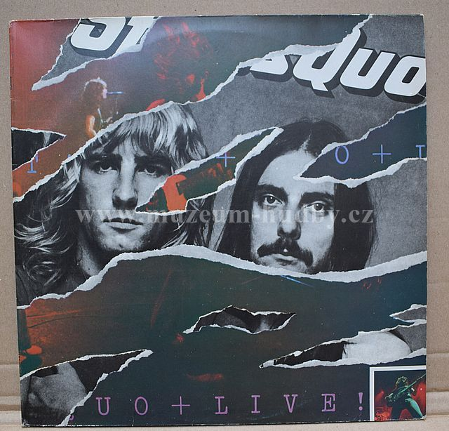 """Status Quo: Live - Vinyl(33"""" LP)"""