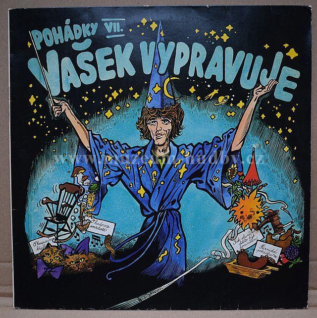 """Vašek Neckář: Vašek vypravuje pohádky Františka Nepila - Vinyl(33"""" LP)"""