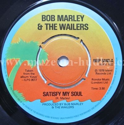 Bob Marley Amp The Wailers Satisfy My Soul Smile Jamaica