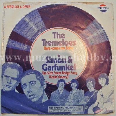"Simon & Garfunkel / The Tremeloes: The 59th Street Bridge Song (Feelin' Groovy) / Here Comes My Baby - Vinyl(45"" Single)"