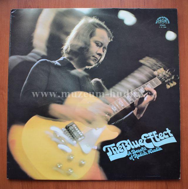 "Blue Effect: A Benefit Of Radim Hladík - Vinyl(33"" LP)"
