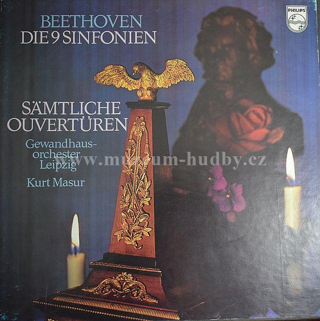 """Beethoven - Gewandhausorchester Leipzig / Kurt Masur: Die 9 Sinfonien - Sämtliche Ouvertüren - Vinyl(33"""" LP)"""