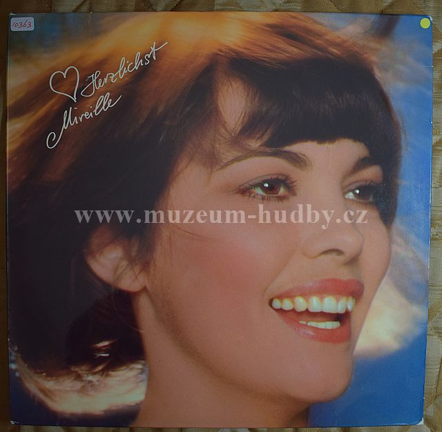 """Mireille Mathieu: Herzlichst Mireille - Vinyl(33"""" LP)"""