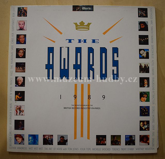 "Eurythmics / Bon Jovi / Erasure / George Michael / Enya / Fleetwood Mac: The Awards 1989 - Vinyl(33"" LP)"
