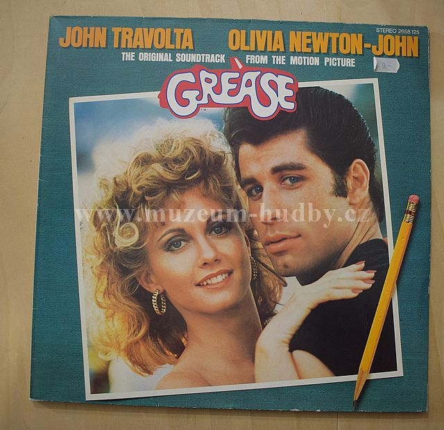 "Frankie Valli / John Travolta / Olivia Newton-John / Frankie Avalon: Original Movie Soundtrack - Vinyl(33"" LP)"