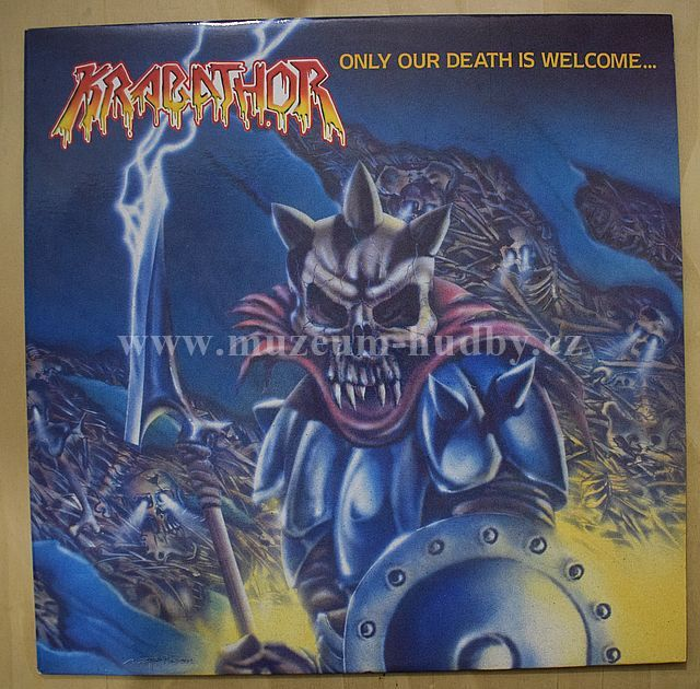 "Krabathor: Only Our Death Is Welcome... - Vinyl(33"" LP)"