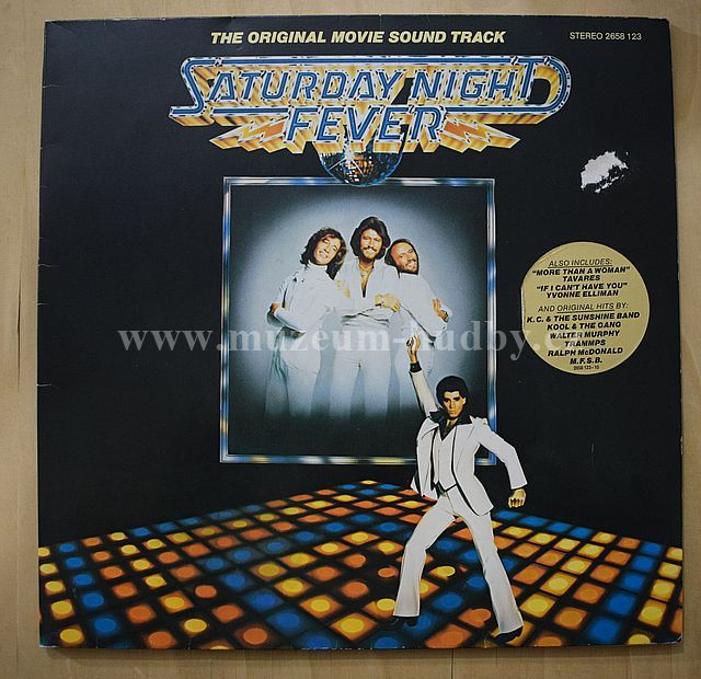 "K.C. And The Sunshine Band / The Trammps / Bee Gees: Saturday Night Fever - Vinyl(33"" LP)"