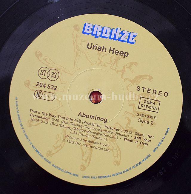 Uriah Heep Abominog Product Detail Online Vinyl Shop Gramofonove Desky