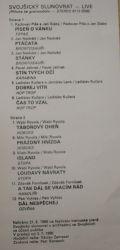 Brontosauři / Topas / Karabina / Hop Trop / Hoboes / Stopa / Handlíři / Ozvěna-Svojšický Slunovrat - Live