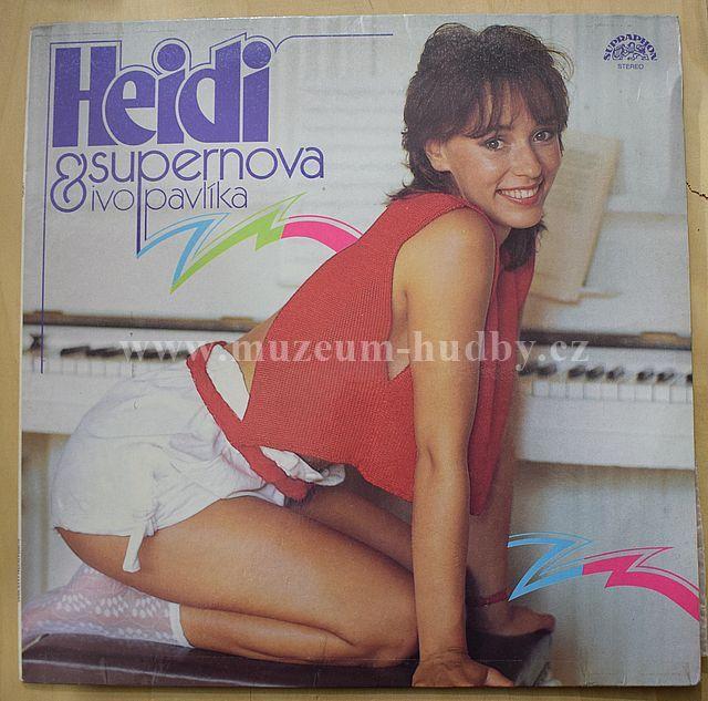 "Heidi & Supernova Ivo Pavlíka: Heidi - Vinyl(33"" LP)"